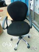 Durable Fabric Swivel Office Chair