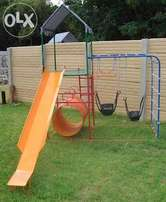 New Steel Jungle gym with 2 swings
