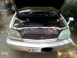 Toyota harrier at 730k