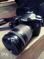 Canon 50D with 18-135mm and 2 batteries