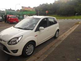 Ford Figo 1.4 Trend, 2012 model, White in color
