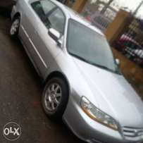 Honda Accord 2002 Tokunbo ( Distress Sales)