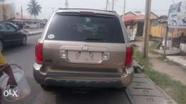 Honda pilot accident free leather seat Lagos cleared nothing to fix