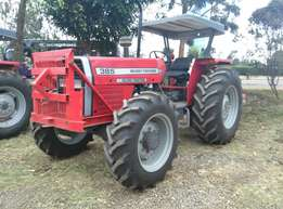 2016 Model Mf 385,4WD,with Front Grill,3Disc Plough and Warranty