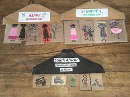 Hand crafted greetings cards
