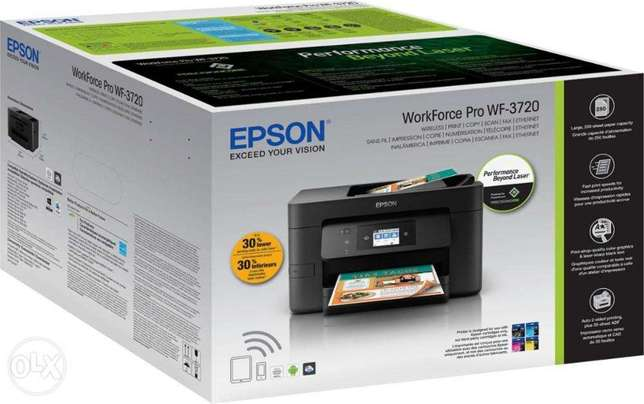 WorkForce Pro WF-3720 WiFi Auto Two sided All-in-One Printer, NEW! Nairobi CBD - image 8