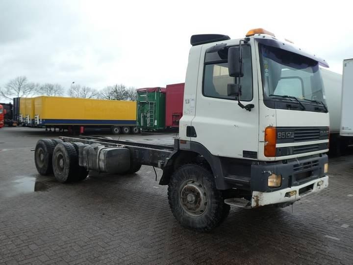 DAF CF 85.360 6x4 steel euro 2 - 2000