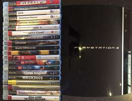 Playstation 3 and 20 game bundle for R3500 (worth R6000 plus)