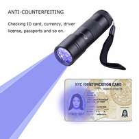 UV torch check fake currency