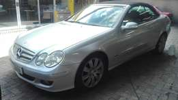 Mercedes Benz CLK350 convertible