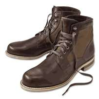 Brown boots size six