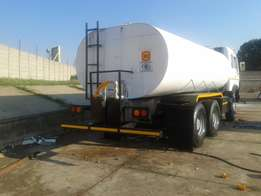 We manufacture Water tankers with full hydraulic systems
