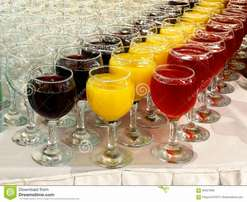 We serve tasty drinks and local beverages at events with quality.