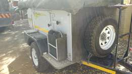Price reduced to sell! 2009 Echo 4X4 Offroader trailer! Brand new!