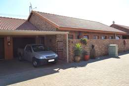 Townhouse for over 55's for sale in Meyerton