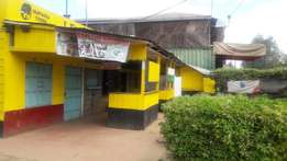 Building to lease at Matasia town along tarmac road.