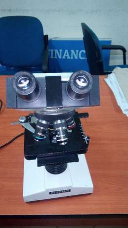 Olympus Biological Microscope With Objective Lenses Ngara - image 4