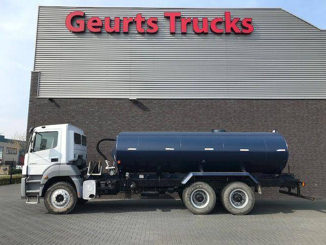 Mercedes-Benz AXOR 3344 6x4 WATERTANKERS - 2011