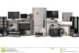 TV and appliances repair on site