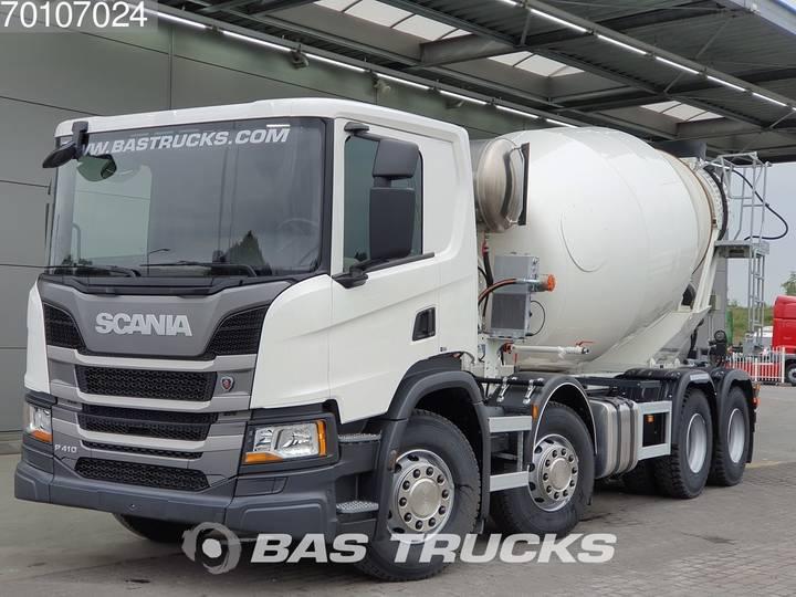 Scania P410 8X4 NEW! CIFA 10m3 Euro 6 - 2017