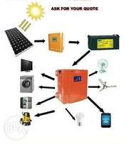 Supply and installation of complete Solar - Inverter Power Solution