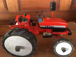 Hand Made Wooden Foton Tractor