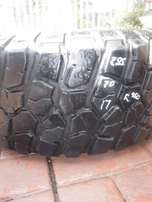 1xBF Goodrich tyre 285/70/17,60 percent tread!!Good for spare,Bargain!