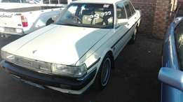 Toyota cressida 22r,manual with mags