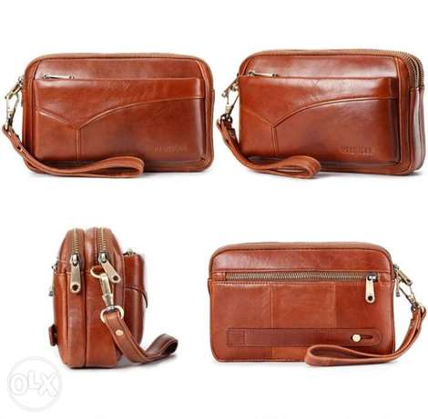 Leather Clutch bag high quality الرياض -  4