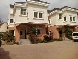 6unit of 4bedroom terrace duplex (newly built) for rent at Maitama