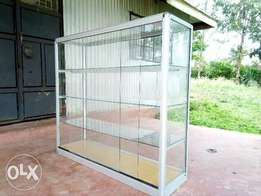 Four Deck Aluminium And Glass Display counter