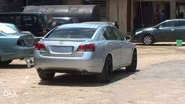 Barely used Lexus Gs350