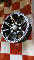15inch offset rims in complete set