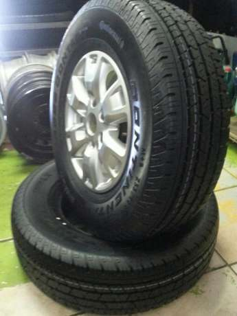 Ford Ranger mags 16 inch with tyres Continental 255/70R16C set of four Pretoria West - image 6