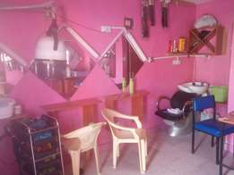 Salon on offer, welcome