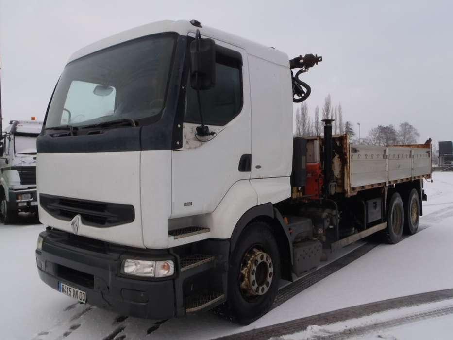 Renault 400 Premium 6x2 Kipper + Crane - 2000