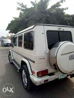 Mercedes Benz g wagon 2004 up graded to 2010