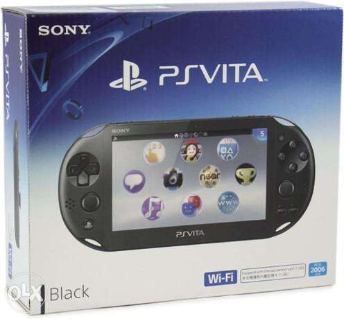 PS VITA NEW used 1 week only, complete box Ilala - image 1