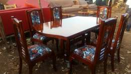 Brand new 6 seaters dining table