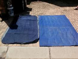 Double and 3 quarter mattresses for sale with pump