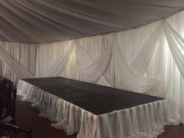 draping, catering and function hire