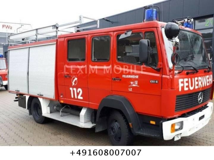 Mercedes-Benz 814  LF8 , Tank 1200 Liter - 1986