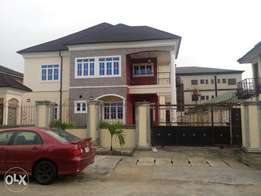 BRAND NEW!Magnificent 5 Bedroom detached duplex with BQ at Trans Amadi
