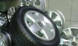 "15"" mags and tyres for polo vivo"
