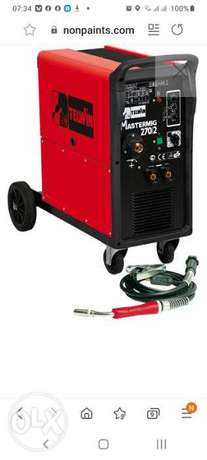 TeTELWIN Mastermig Welding with new gas cylinder