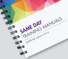 Traing Manuals, seminar booklets, study guides