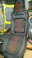 Black and red seat Covers