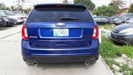 Blue Neatly Used Ford Edge 2014 Model For Sale
