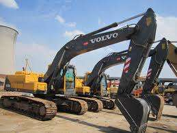 Volvo Excavator 210 for hire