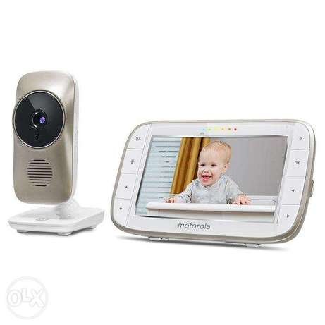 "Motorola MBP845CONNECT 5"" Video Baby Monitor 5 screen"